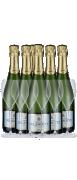 Delamotte Champagne 6 flasker m. 6 Delamotte Champagneglas